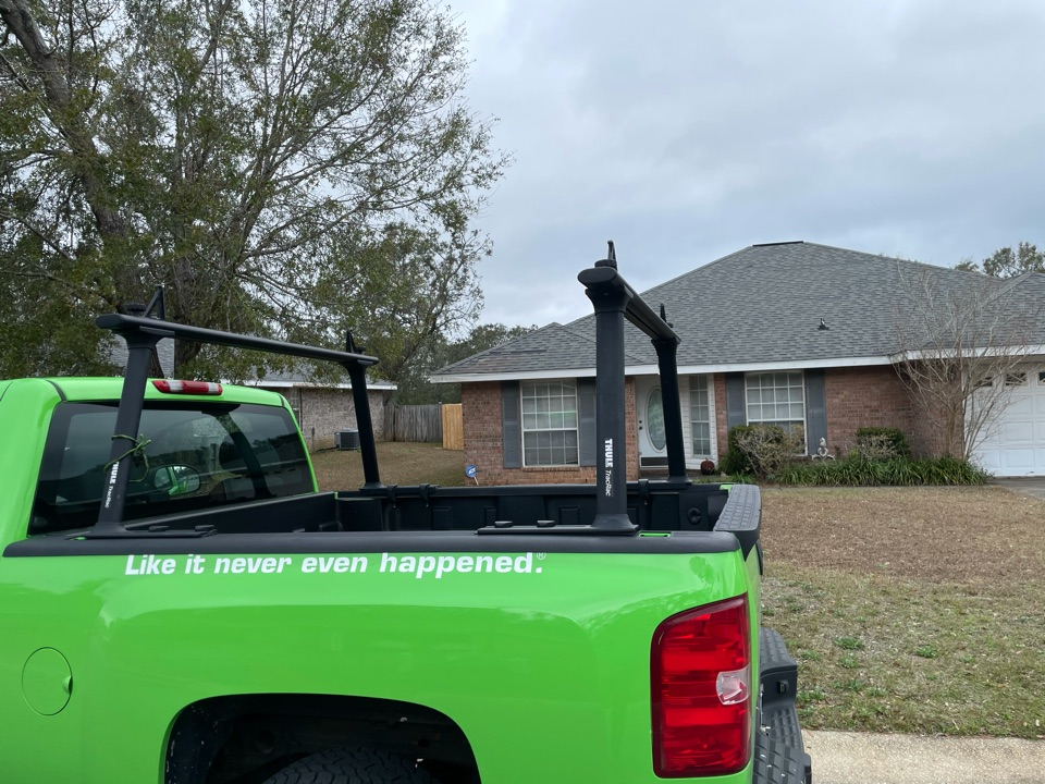Home in North West Pensacola was concerned that they might have an issue with mold after hurricane Sally. We inspected the home for hidden moisture using a FLIR camera and non invasive meters. We found no issues whatsoever which gave the customer peace of mind.