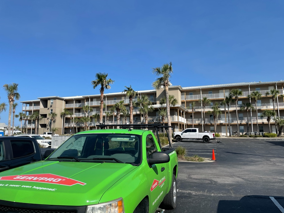 An owner of a condo in Perdido Key was concerned that an out of state water restoration company was exaggerating the extent of the water damage in the subfloor. I was able to test the subfloor in several locations and was able to confirm that the moisture measurements were correct and the floor should be removed. Not what the customer wanted to hear but at least the information they are being told is truthful.