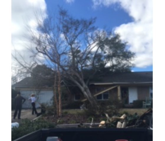 Pensacola Beach, FL - If you are in need of storm cleanup and damage restoration company, we are the best people to call.