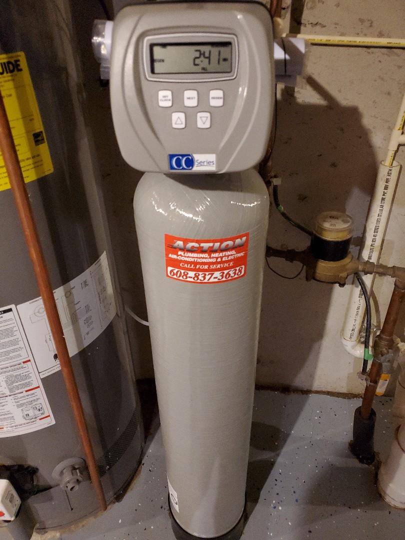 Sun Prairie, WI - Need plumber, install, water wright, water softener.