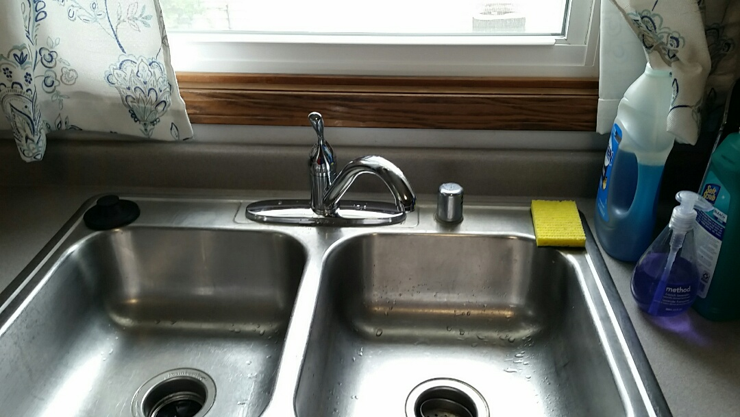 Madison, WI - Install Delta kitchen sink faucet