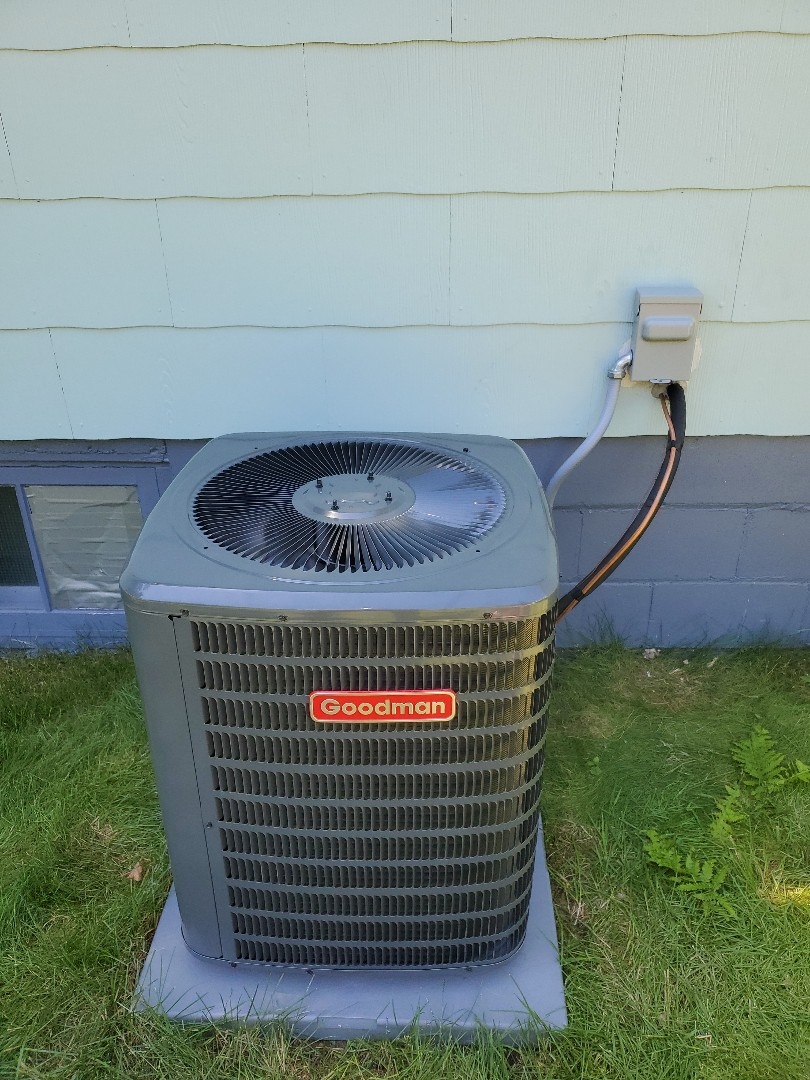 Columbus, WI - Install needed hvac goodman 2.5 ton.