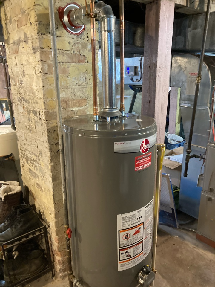 Madison, WI - Install new water heater