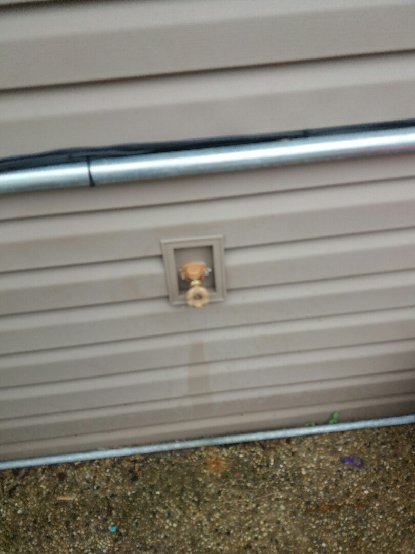 Lake Zurich, IL - Install new outside spigot with shut off valve