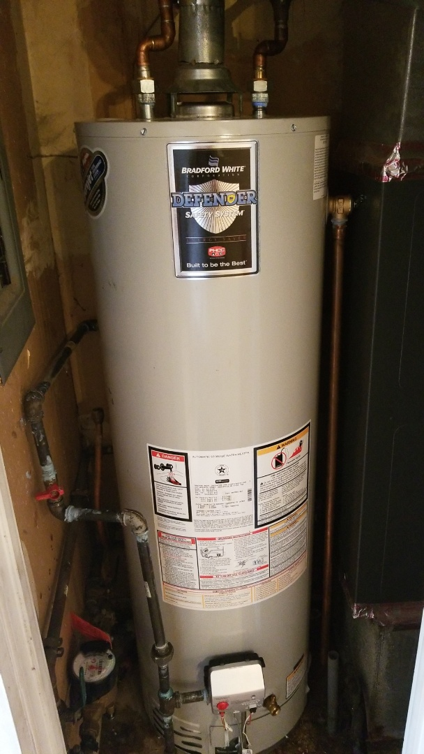 Install new water heater