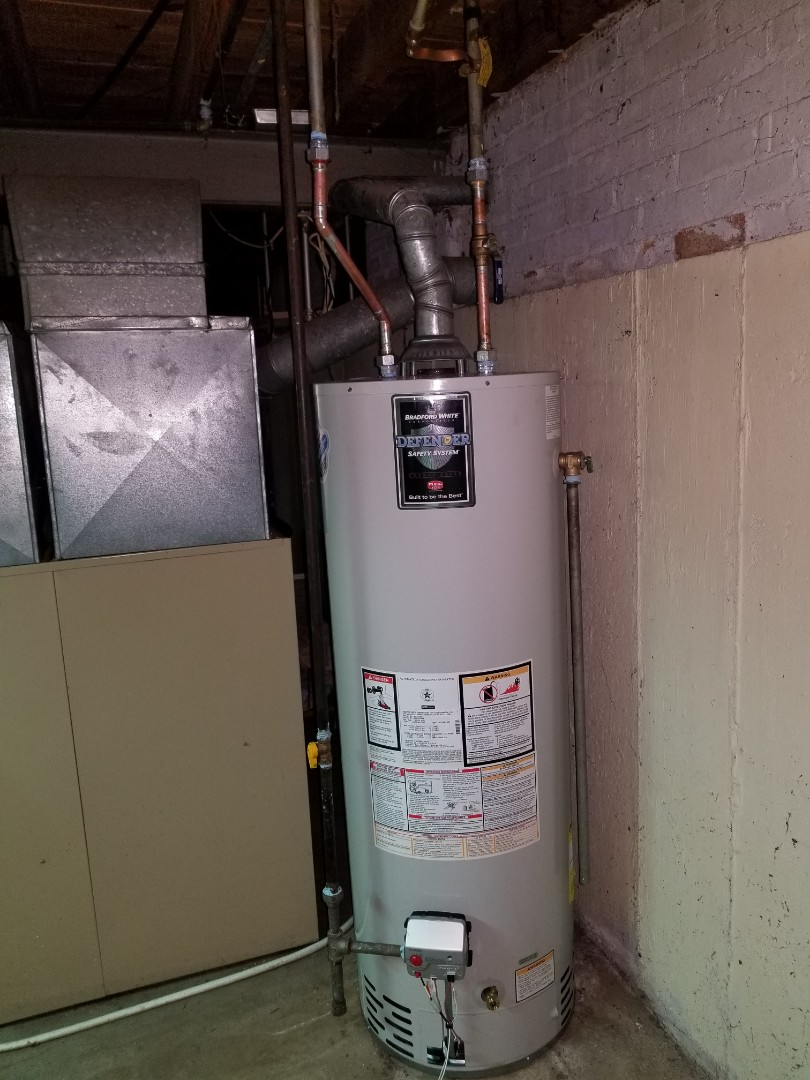 Arlington Heights, IL - Install 40 gal water heater, 2 faucets, and other miscellaneous plumbing