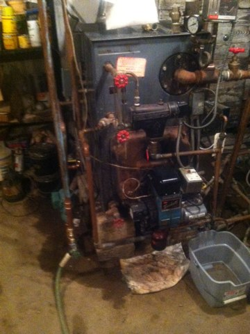 South Brunswick Township, NJ - Serve sing an oil boiler
