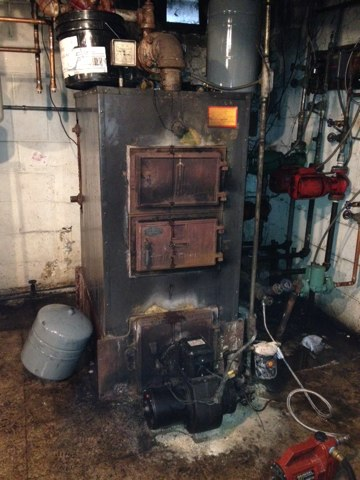 Hightstown, NJ - Winterizing an old house and it's heating system