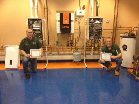 Cherry Hill, NJ - Second day of Navien training level 3 complete. Fantastic class on a fantastic product. Tankless is the future!!!!