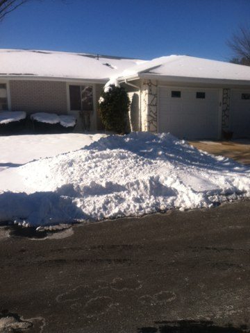 Monroe Township, NJ - This afternoon we are winterizing a house