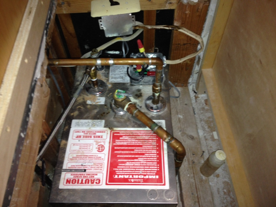 Rumson, NJ - Replacing a steam shower unit in Rumson. Love this stuff :) B 4