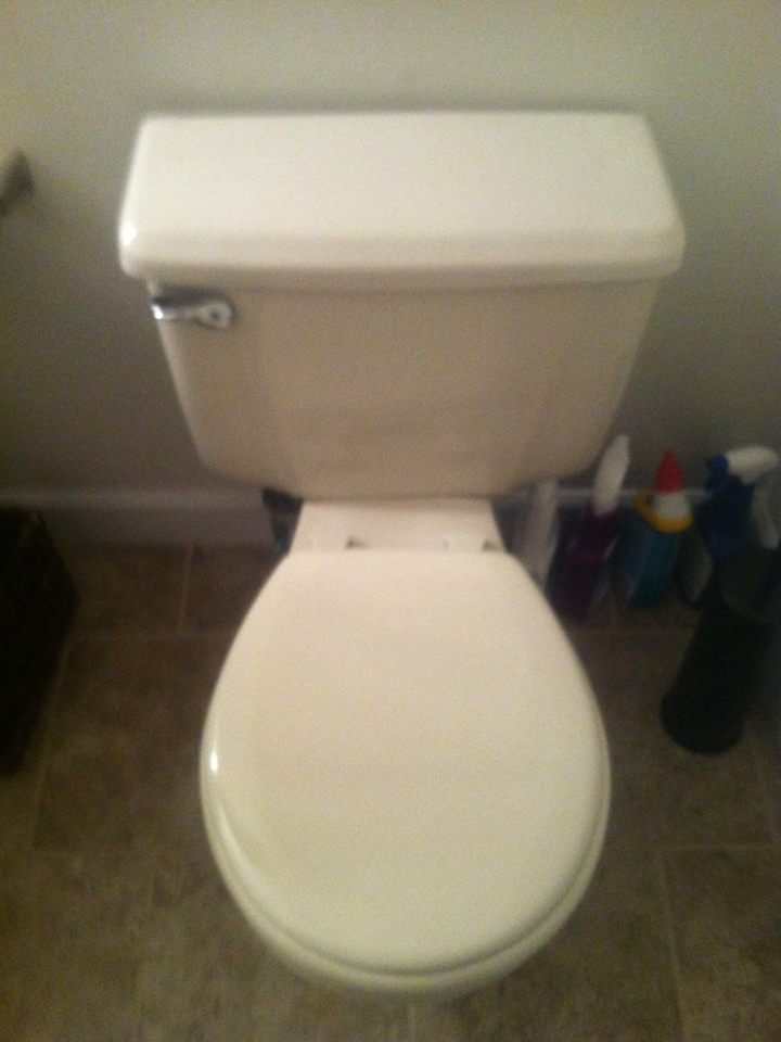 Monroe Township, NJ - Today I'm rebuilding a toilet