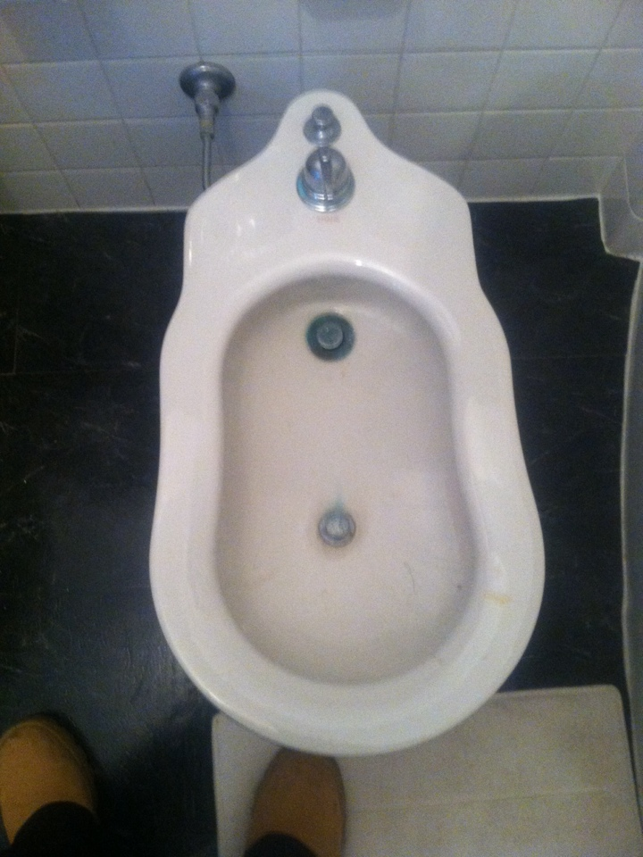 Princeton, NJ - Today we are hooking up a bidet