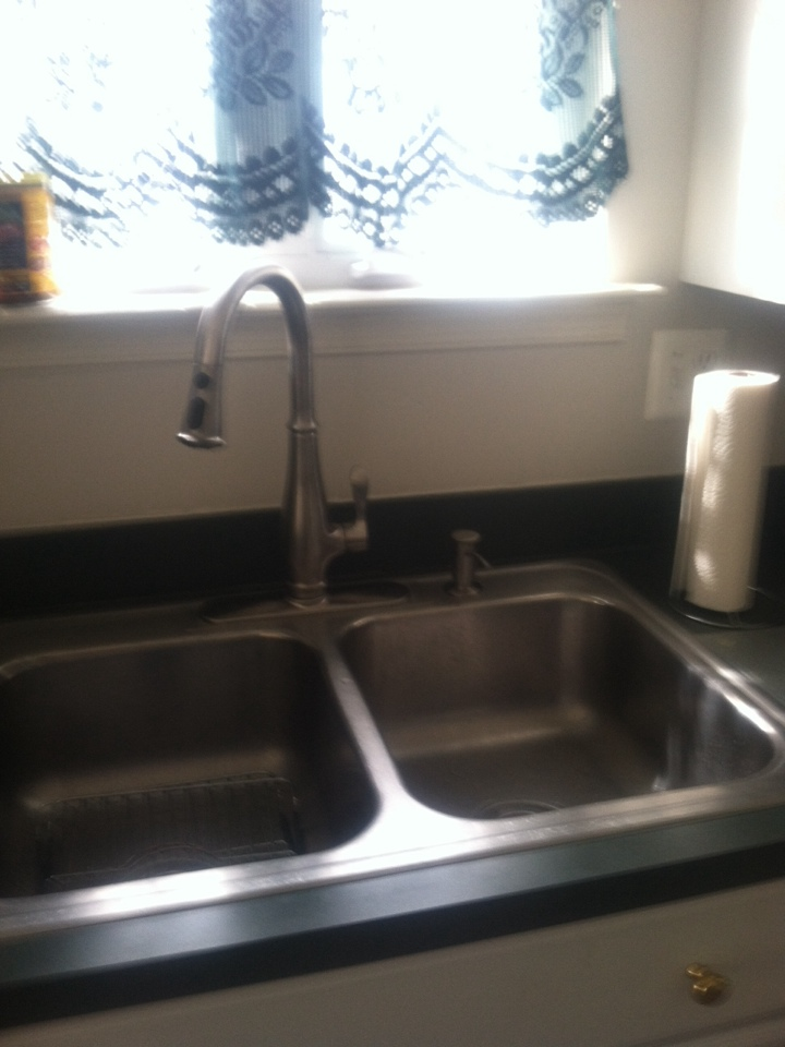 Monroe Township, NJ - Today I'm installing a new kitchen faucet