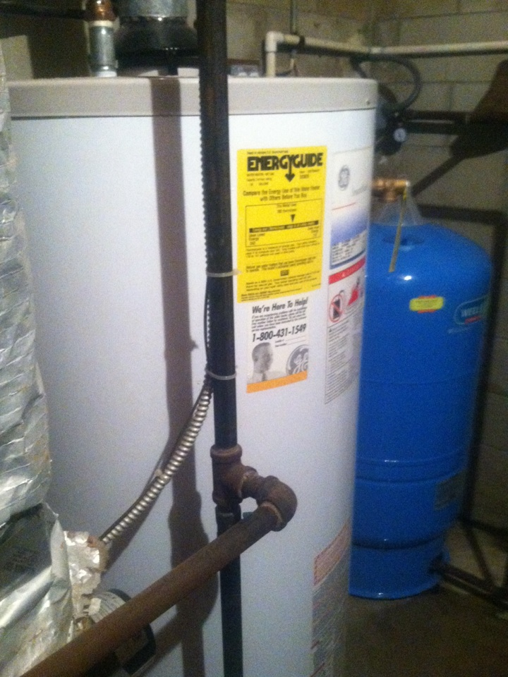 Millstone, NJ - Replacing a 75 gallon water heater for an awesome customer!