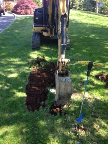 Hillsborough Township, NJ - We really dig it.  Great pricing on sewer repairs!