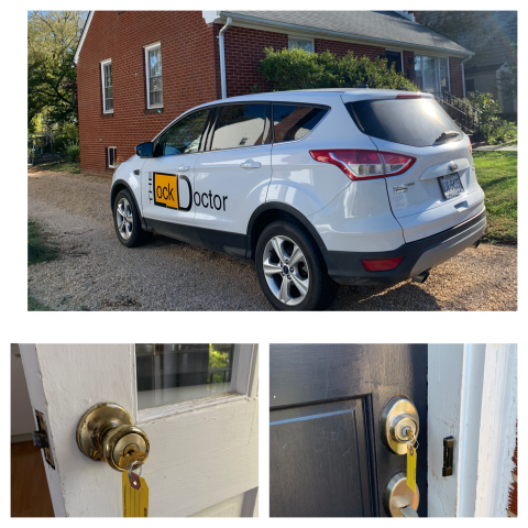 Charlottesville, VA - Rekeyed a rental house for the landlord.  The new tenant is arriving soon and the landlord had us rekey the locks so the new tenant will be secure.