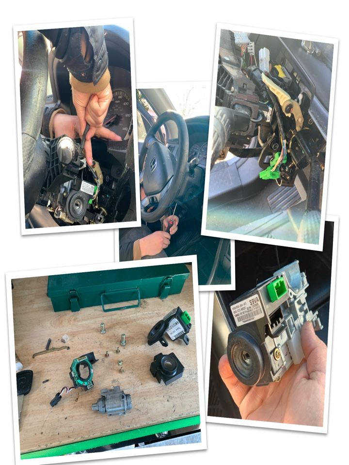 Crozet, VA - Rebuilt a worn out ignition switch for a 2904 Honda Pilot