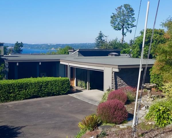 Federal Way, WA - One-ply membrane torch down roof granulated