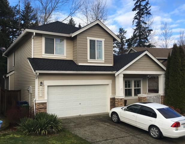 Auburn, WA - Complete tear-off of the existing roof  A GAF Timberline High Definition composition shingle was installed The color of the shingle is Charcoal
