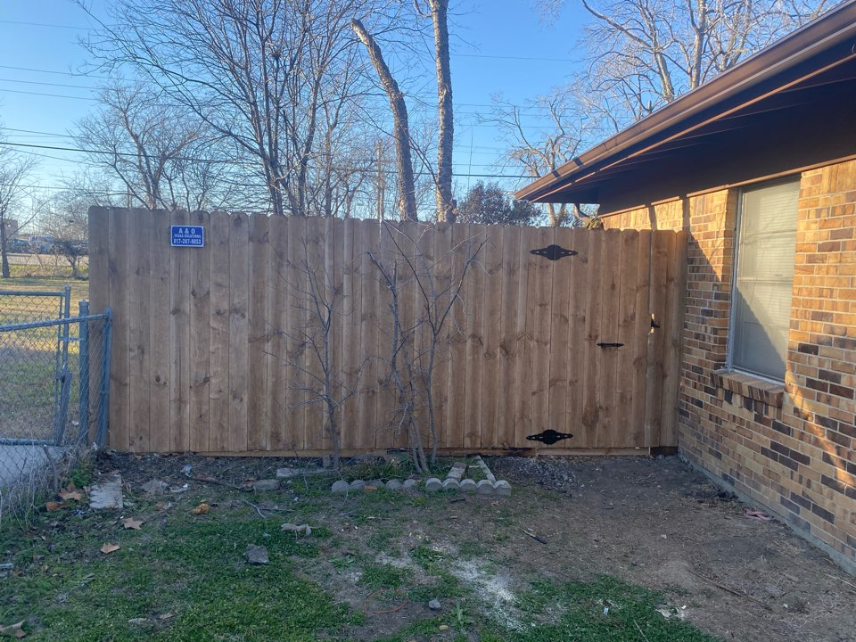 Fence Replace North Richland hills