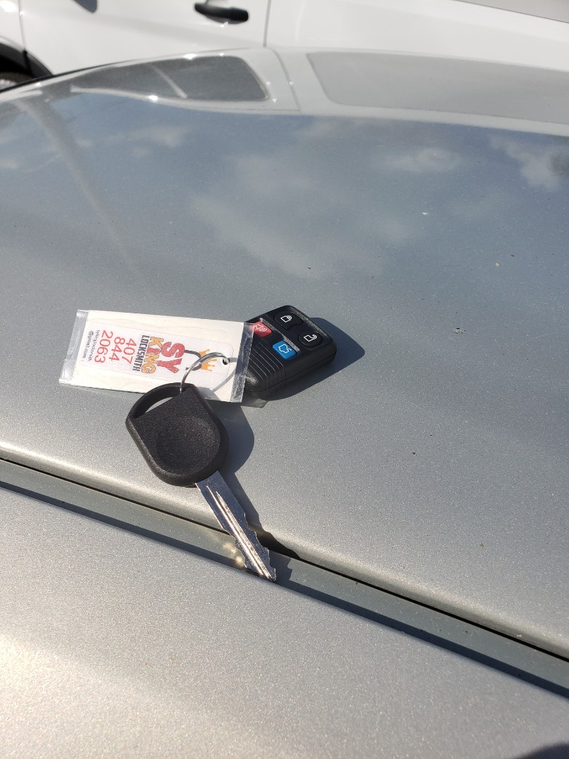 Ford taurus 2007 key made