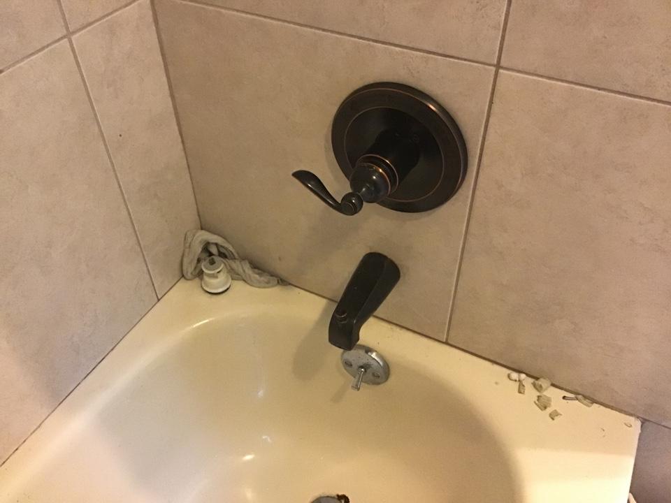 Winter Park, FL - Changed out delta cartridge in shower valve