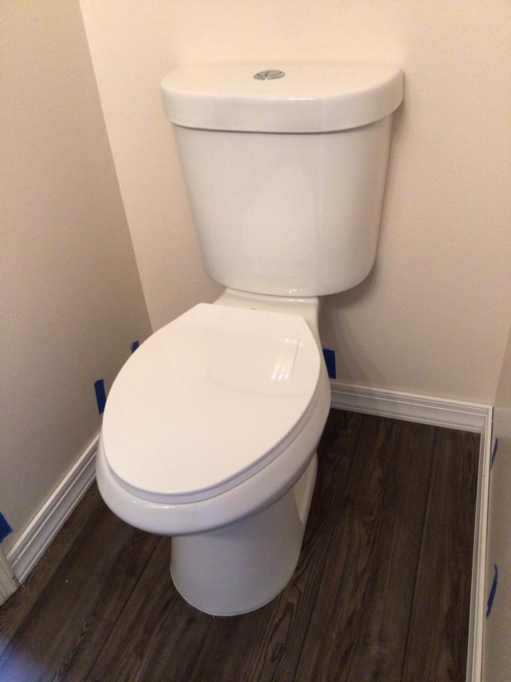 Winter Springs, FL - Install new Glacier Bay toilet