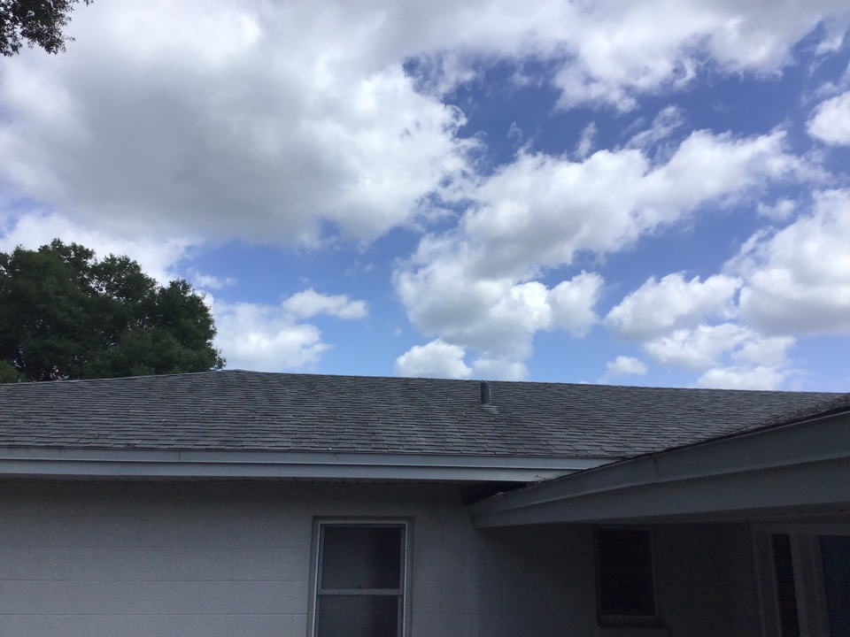 Altamonte Springs, FL - Cleared blockage through roof