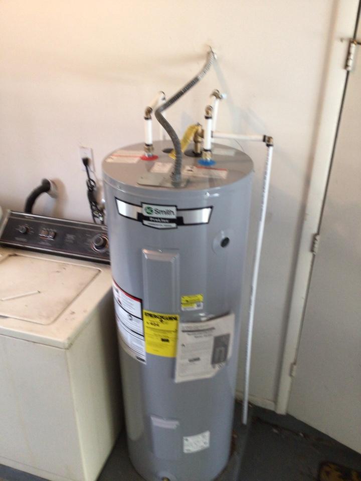 Sanford, FL - I install new electric water heater 50 gal.