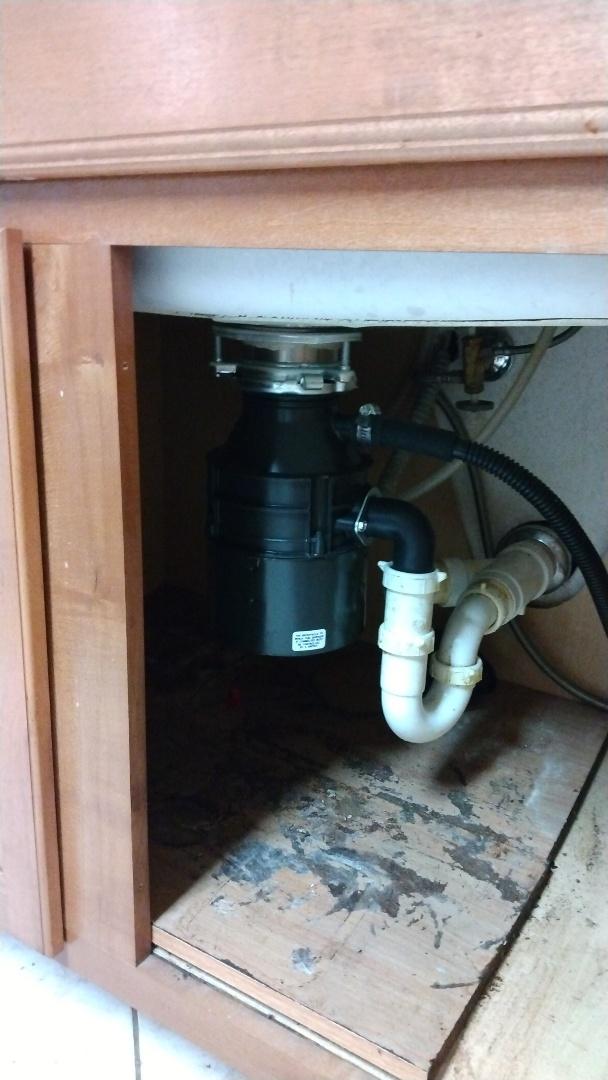 Clermont, FL - Replaced garage disposal
