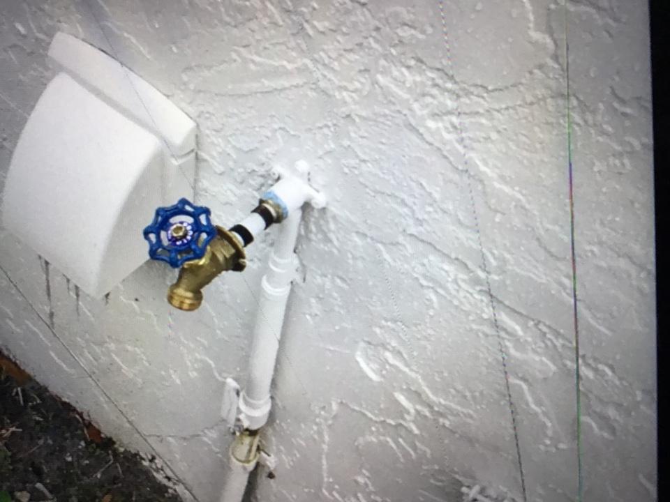 Orlando, FL - Replaced hose bib