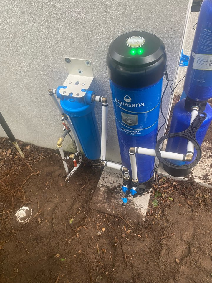 Apopka, FL - Aquasana installed on main line