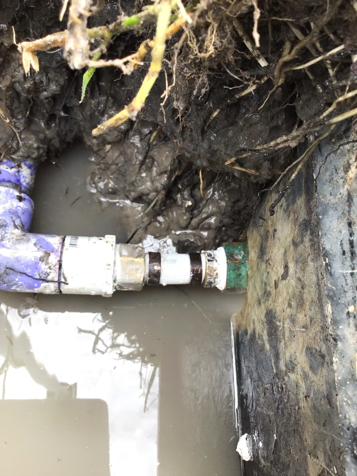 Sanford, FL - Client have water leak in the yard, i fixed the water leak.