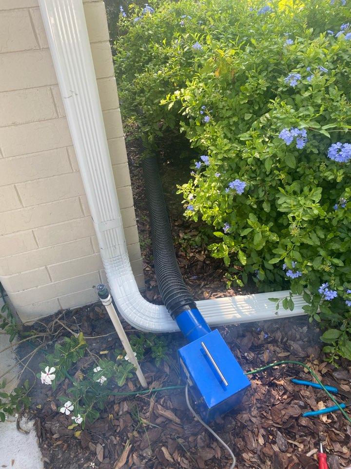 Maitland, FL - Smoke test for roaches. No smoke showing