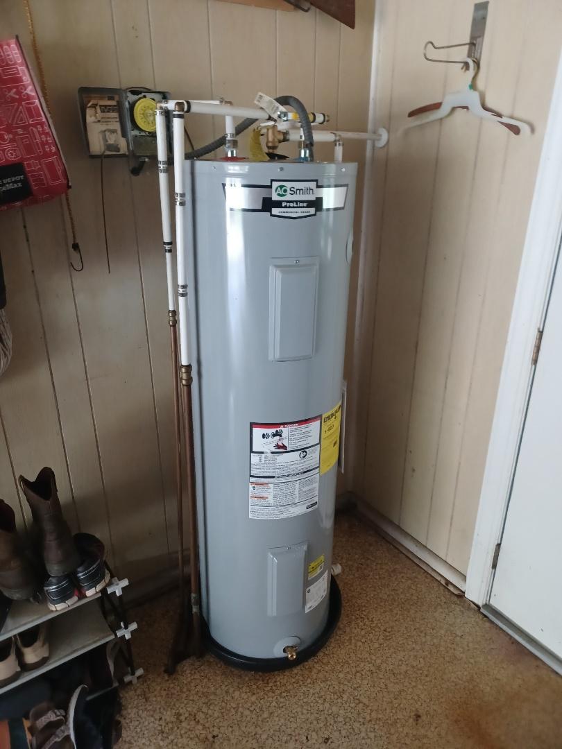 Apopka, FL - Hot water tank install