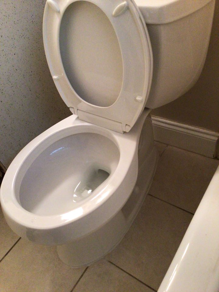 Apopka, FL - Customer provided three toilet, i install the toilets.