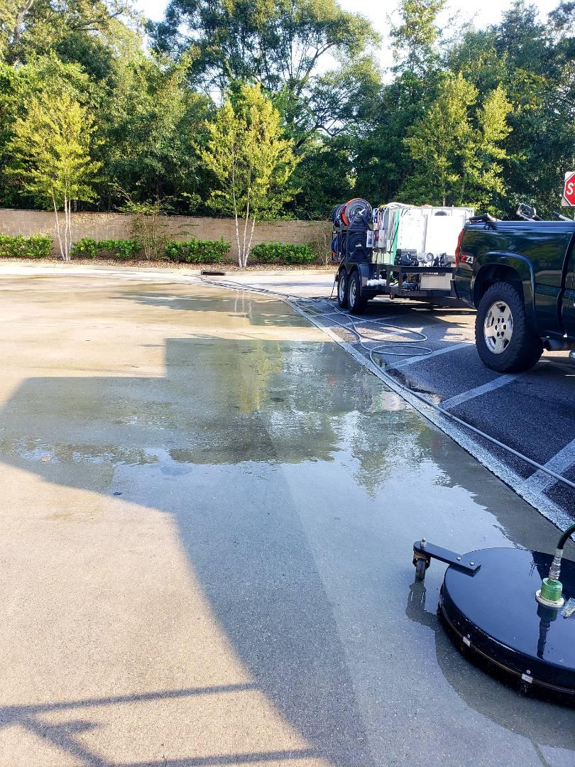 Milton, FL - Power washing @??