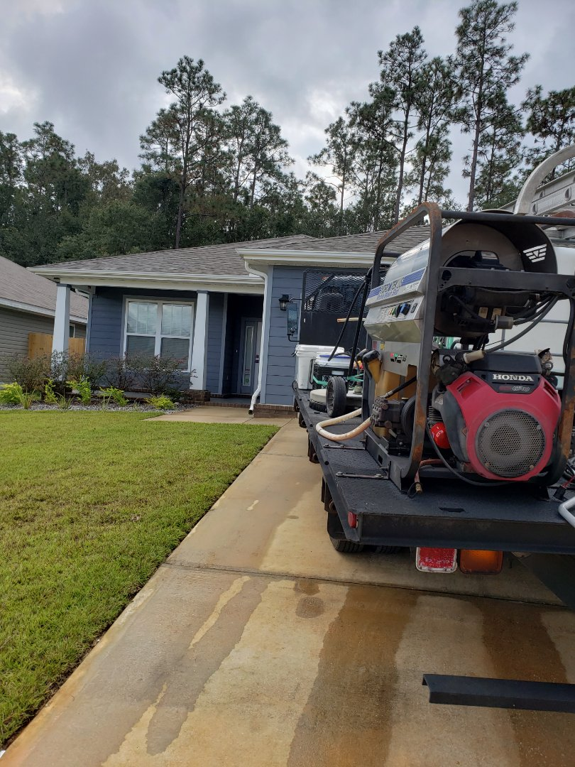 Pensacola, FL - House washing in Pensacola.