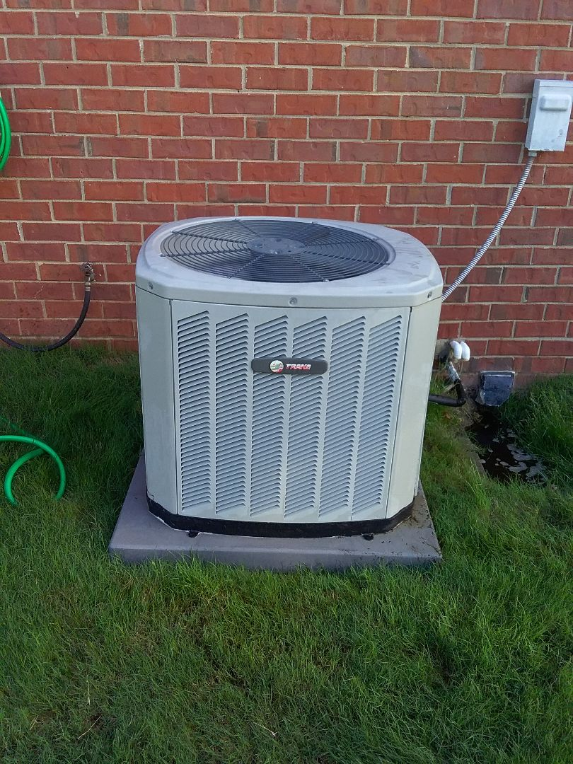 Performed repair on Trane air conditioner