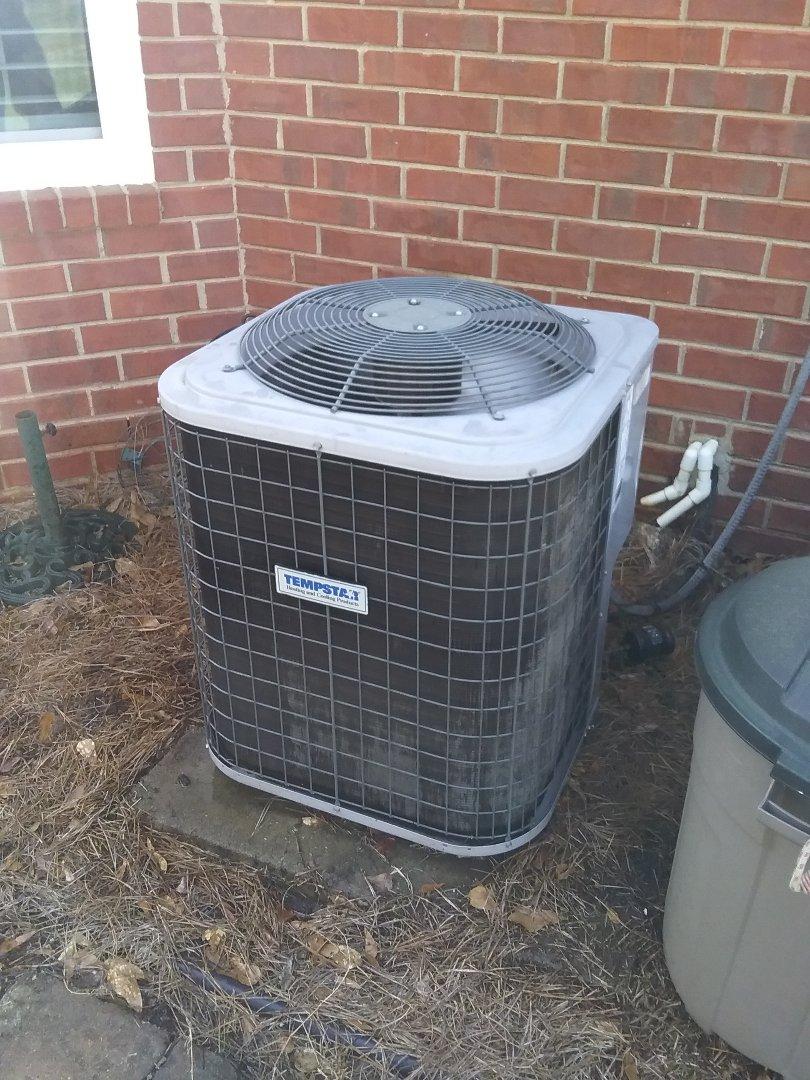 Performed maintenance/repair on Tempstar air conditioner