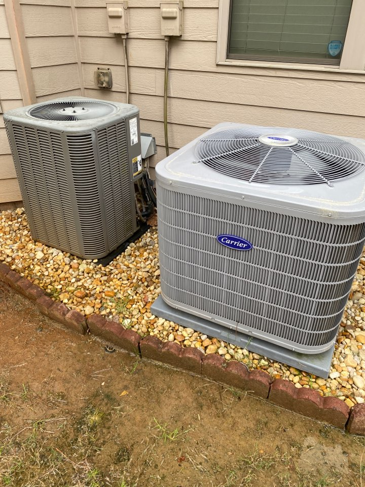 Carrier and lennox ac service
