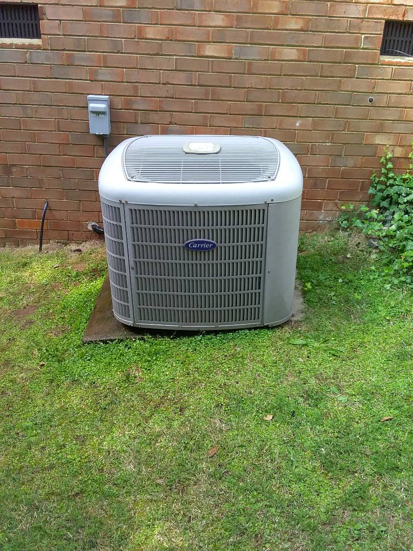 Performed repair on Carrier air conditioner