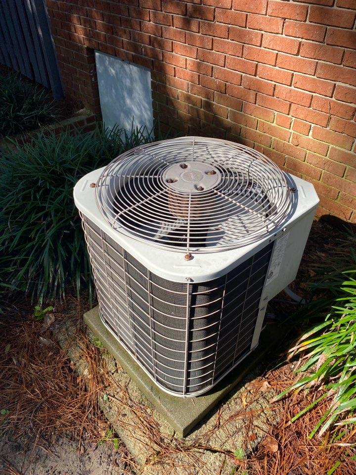 Performed maintenance on Bryant heat pump