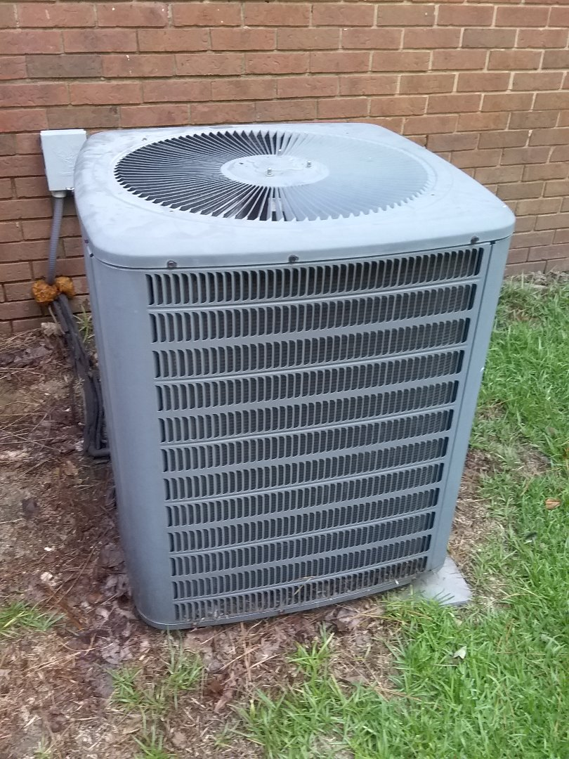 Performed repair on Goodman air conditioner