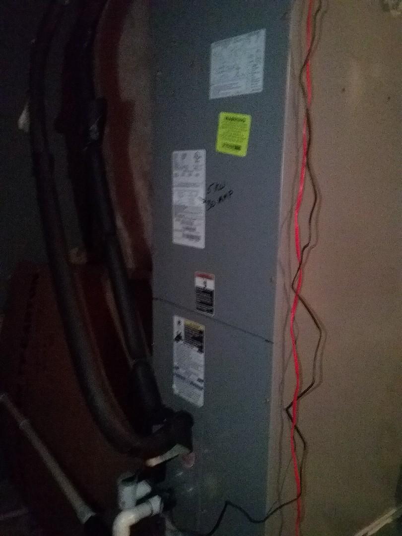Performed repair on Tempstar heat pump