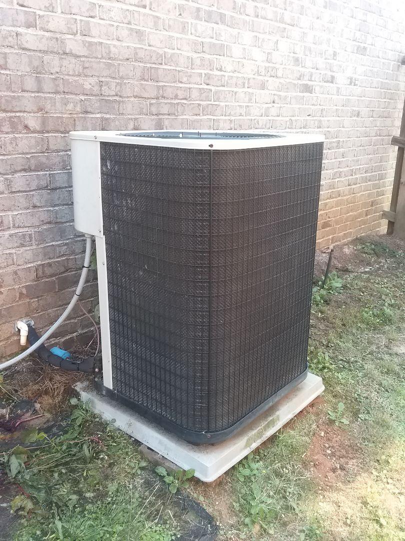 Performed repair on GrandeAire heat pump