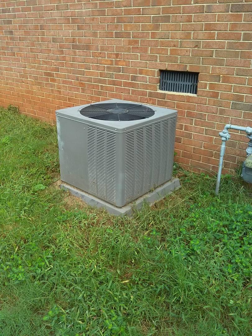 Performed repair on Rheem air conditioner