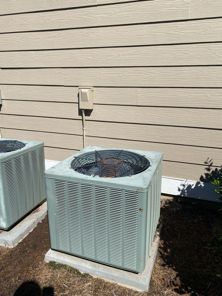 Performed repair on Rheem heat pump