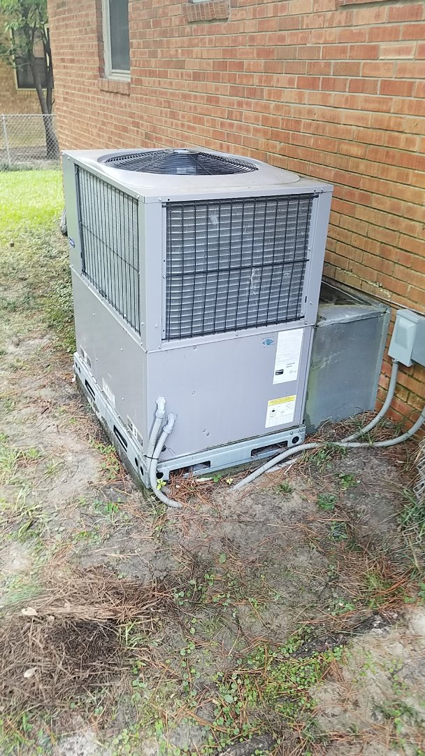 Augusta, GA - Perform the maintenance and cleaning of a two and a half ton carrier package unit